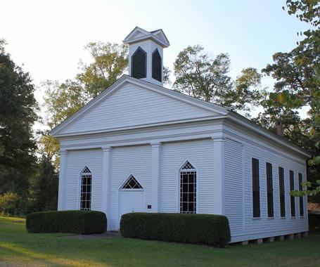 Keatchie Church - No Man's Land