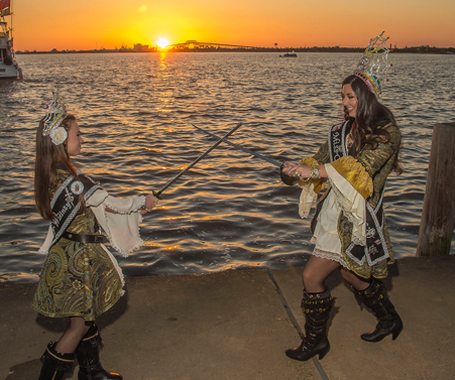 Pirate Festival Lake Charles - No Man's Land