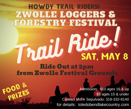Zwolle Loggers & Forestry Festival Trail Ride